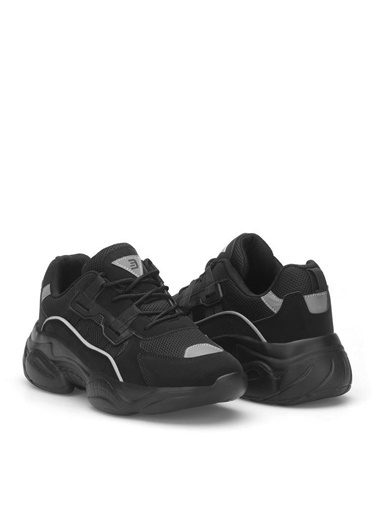 Dark Seer Ds3.5156 Sneaker 2021 Kadın Siyah